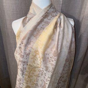 Charter Club Wool & Silk Scarf Wrap